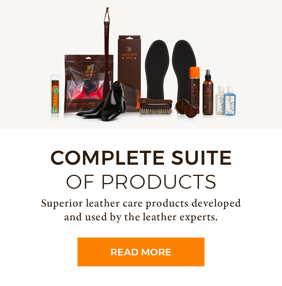 Complete Suite of Products - Superior leather care products developed and used by the leather experts.